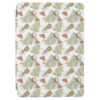 Tropical Fruit Sketch Pattern