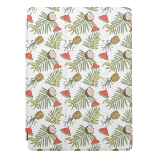 Tropical Fruit Sketch Pattern iPad Pro Cover