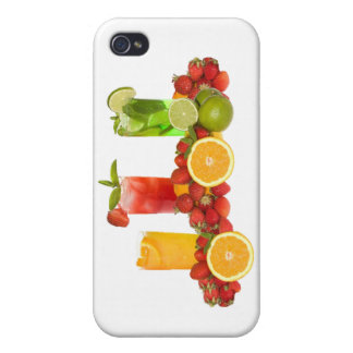 Tropical Fruit Speck Case iPad iPhone 4 Cases