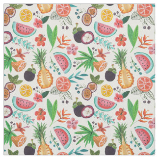 Tropical Fruit Summer | Fabric