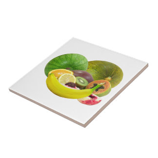 Tropical Fruit Tile