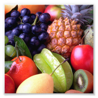 Tropical Fruits Photo Print