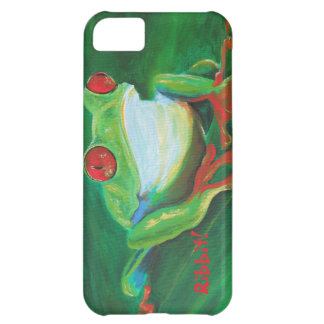 Tropical funny funky frog iPhone 5 case
