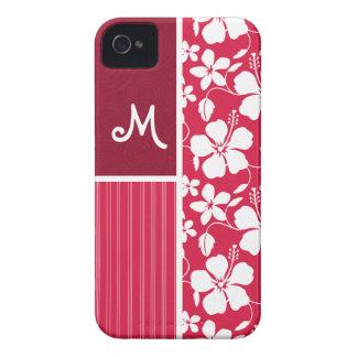 Tropical Fuschia Hibiscus iPhone 4 Case-Mate Cases