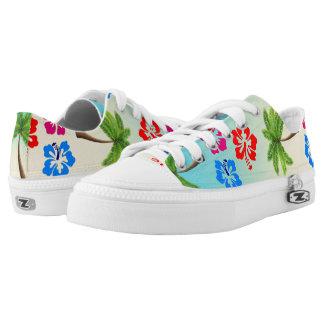 Tropical Garden Printed Shoes