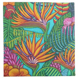 Tropical Gems Cloth Napkins