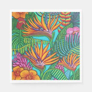 Tropical Gems Paper Napkins Disposable Serviette