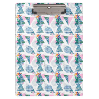 Tropical Geometric Pattern Clipboard