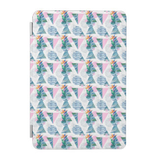 Tropical Geometric Pattern iPad Mini Cover