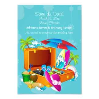 Tropical Get-Away Save the Date Announcement