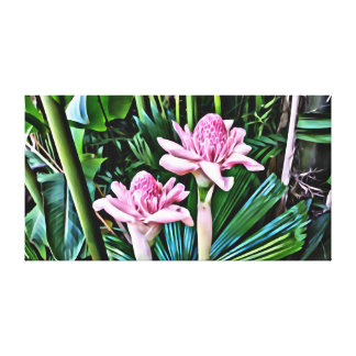Tropical Ginger Canvas
