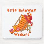 Tropical Girls Getaway Weekend Mouse Mat
