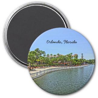 Tropical Grande Vista Resort Orlando, Florida 7.5 Cm Round Magnet