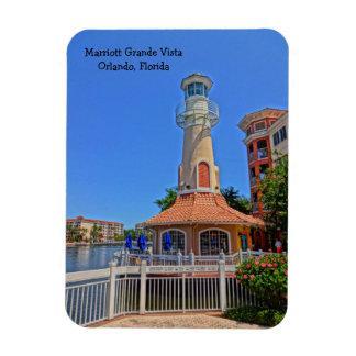Tropical Grande Vista Resort Orlando, Florida Rectangular Photo Magnet