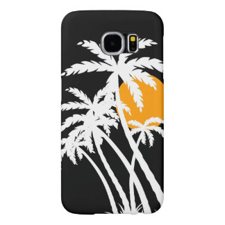 Tropical Graphic Sunset Samsung Galaxy S6 Cases