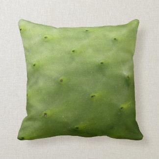Tropical Green Cactus Photo Cushion
