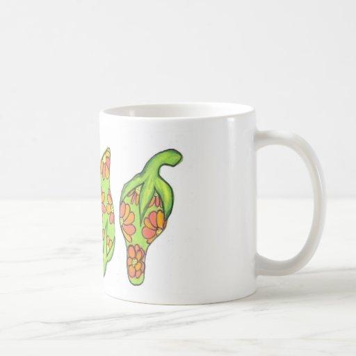 Tropical Green Chilis Mugs
