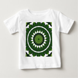 Tropical Green Mandala Baby T-Shirt