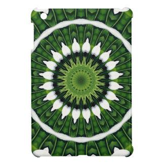 Tropical Green Mandala iPad Mini Cover