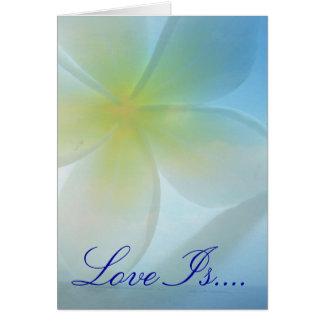 Tropical Haven Wedding Card