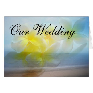 Tropical Haven Wedding Card