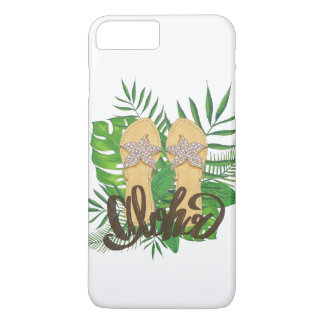 Tropical Hawaiian Flip Flop Aloha iPhone 8 Plus/7 Plus Case