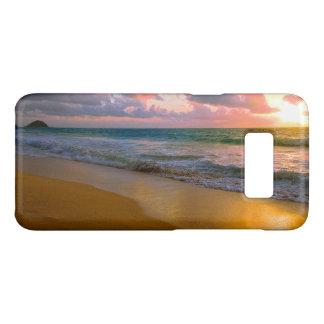 Tropical Hawaiian Golden Beach Sunset Case-Mate Samsung Galaxy S8 Case