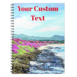 Tropical Hawaiian Island Shoreline Paradise Notebook