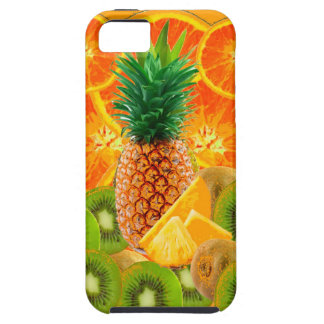 tropical  HAWAIIAN PINEAPPLE & ORANGE SLICES KIWI iPhone 5 Cover