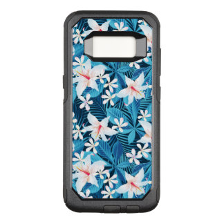 Tropical Hibiscus Floral Pattern 2 OtterBox Commuter Samsung Galaxy S8 Case