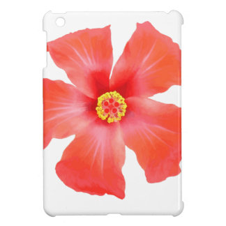 Tropical Hibiscus Flower Vector Cover For The iPad Mini