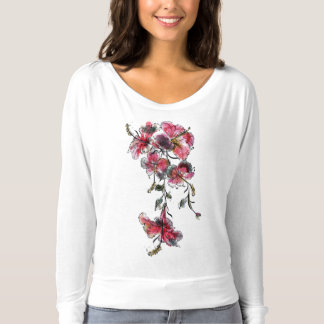 Tropical hibiscus flowers T-Shirt