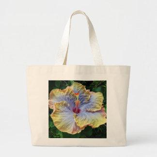 Tropical Hibiscus Large Tote Bag