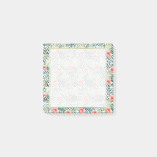 Tropical Hibiscus Tribal Floral Post-it® Notes