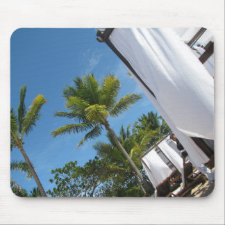 tropical holiday mouse pad