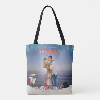 Tropical Holidays | Weather Outside's Delightful Tote Bag