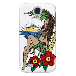 Tropical Hula Galaxy S4 Case