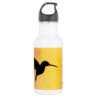 Tropical Hummingbird Colibri Watter Bottle