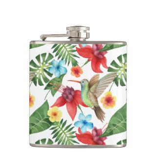 Tropical Hummingbird Flask