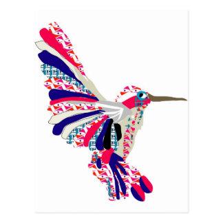 Tropical Hummingbird Postcard