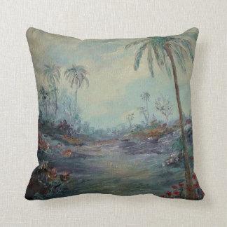 Tropical Impressionism ART Pillow
