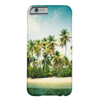 Tropical iPhone cover with palm trees