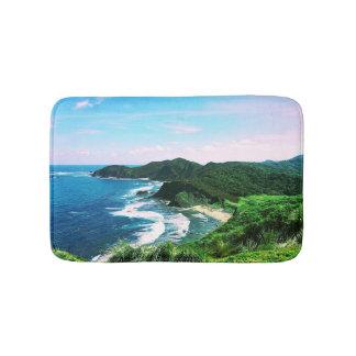 Tropical Island Bay Bath Mat