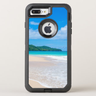 Tropical Island Beach Turquoise Ocean OtterBox Defender iPhone 8 Plus/7 Plus Case
