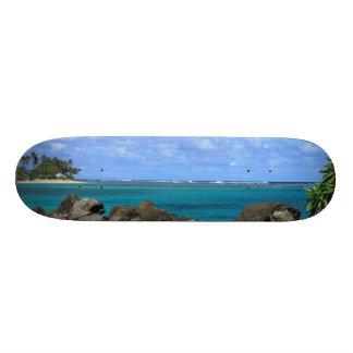 Tropical Island Escape Board 20 Cm Skateboard Deck