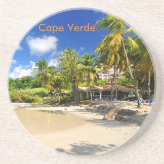 Tropical island in Cape Verde Coasters