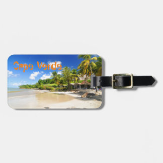 Tropical island in Cape Verde Luggage Tag
