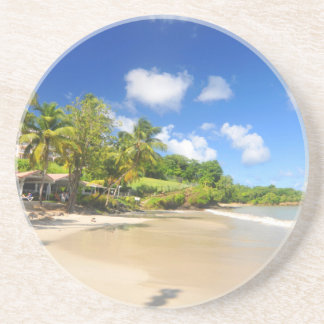 Tropical island in Cayman Islands Coaster