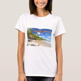 Tropical island in Cayman Islands T-Shirt