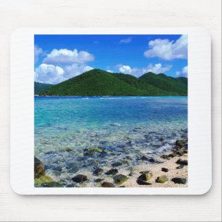 Tropical Island Mary Creek Point Shore St John Mousepads